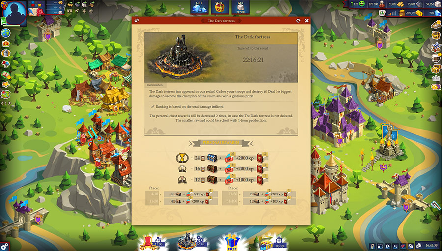 Game of Emperors - Medieval Multiplayer Strategy Game